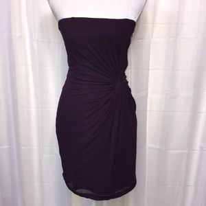 Club Morraco Plum Twist Dress